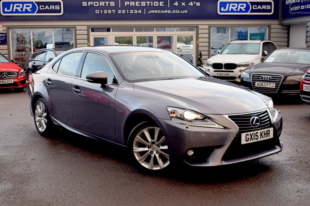 used Lexus IS 300h USED 300H EXECUTIVE EDITION in chorley-lancashire