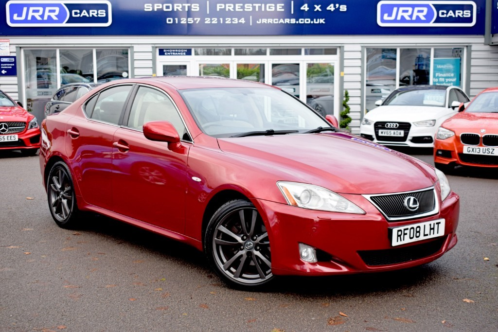 used Lexus IS 250 250 SPORT in preston-lancashire