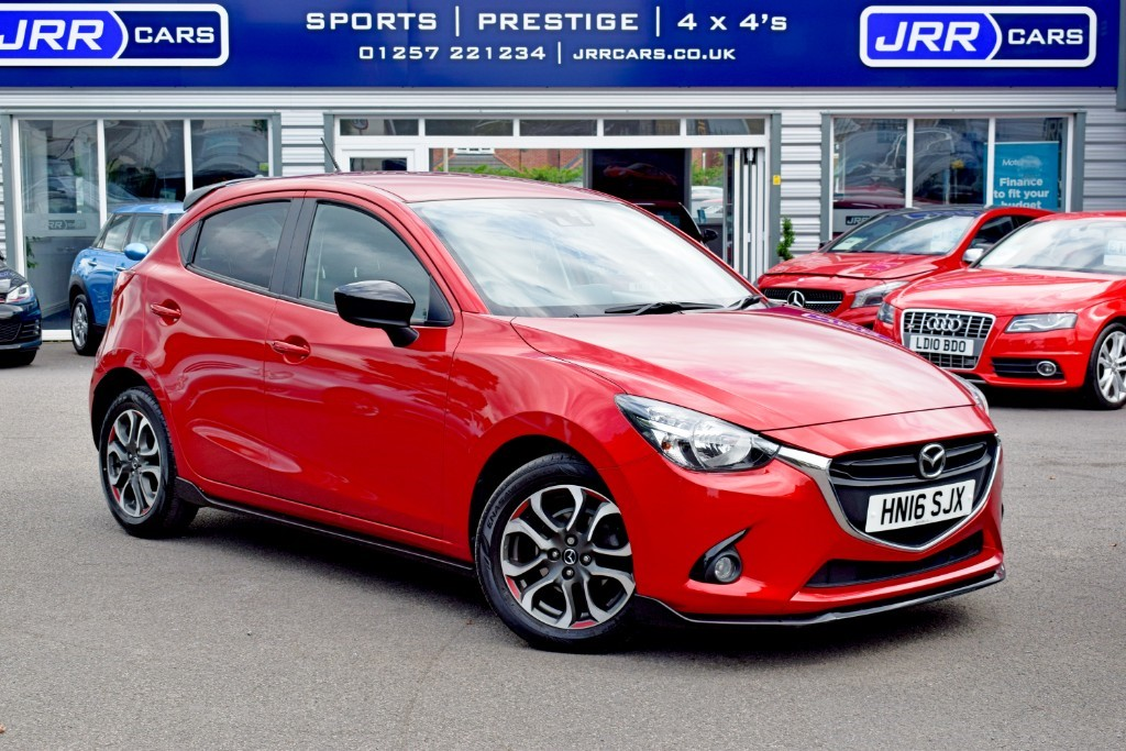 used Mazda Mazda2 SPORT BLACK in preston-lancashire