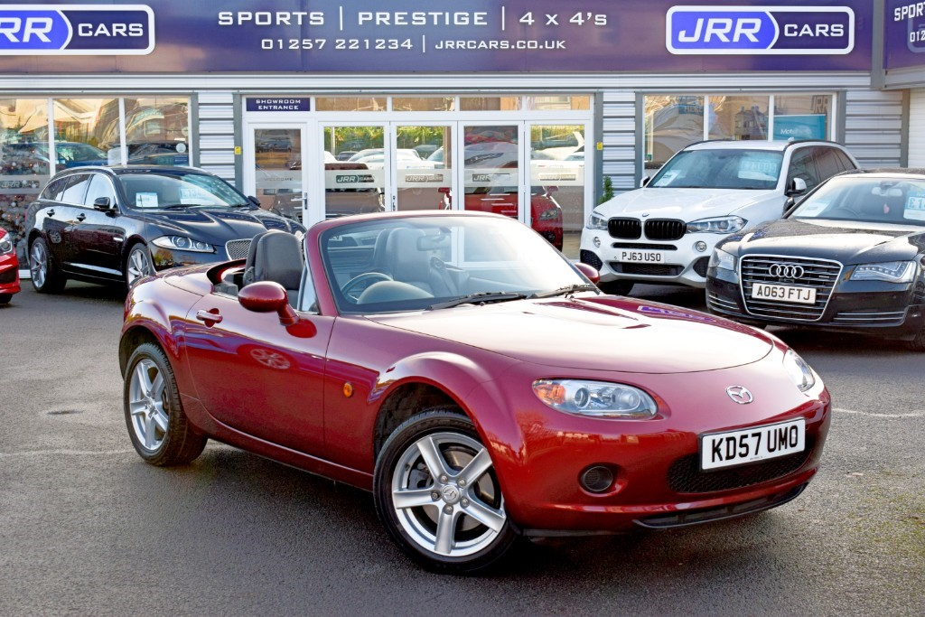 used Mazda MX-5 I ROADSTER in preston-lancashire