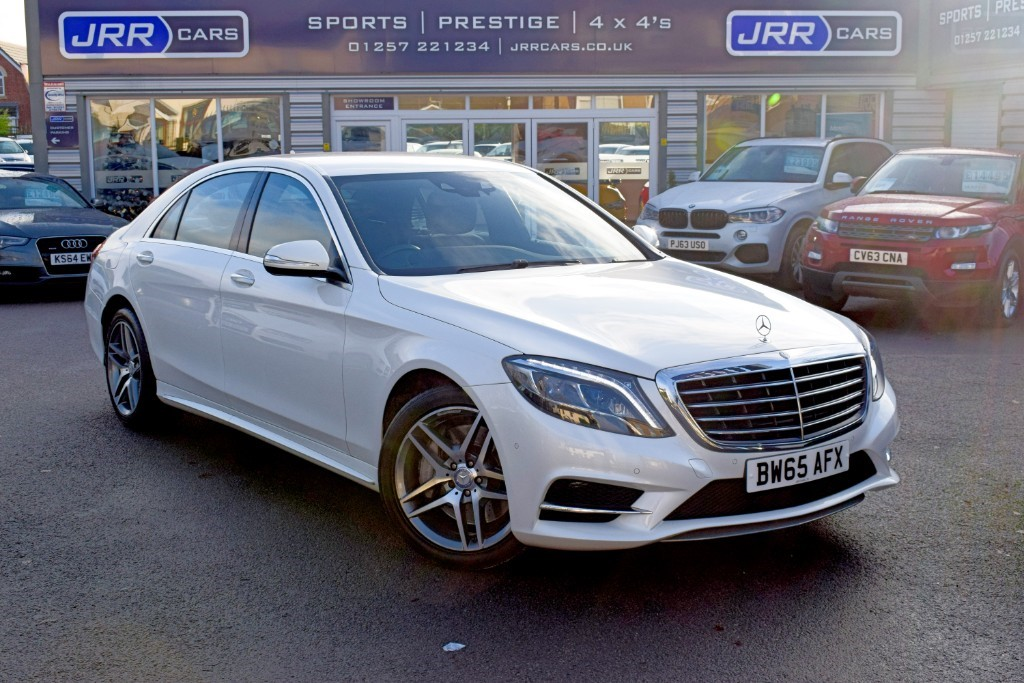 used Mercedes S350L USED S  D L AMG LINE in chorley-lancashire