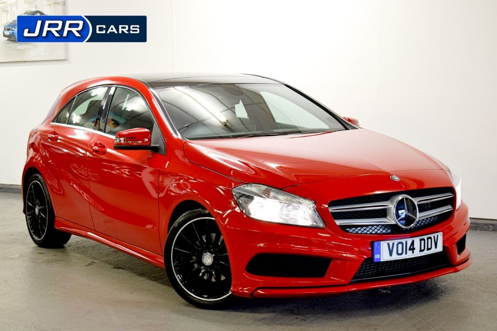used Mercedes A200 BLUEEFFICIENCY AMG SPORT in preston-lancashire