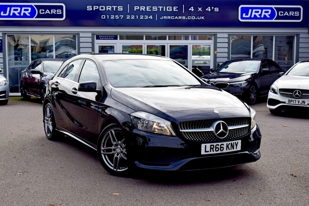 used Mercedes A180d A 180 D AMG LINE EXECUTIVE USED in chorley-lancashire