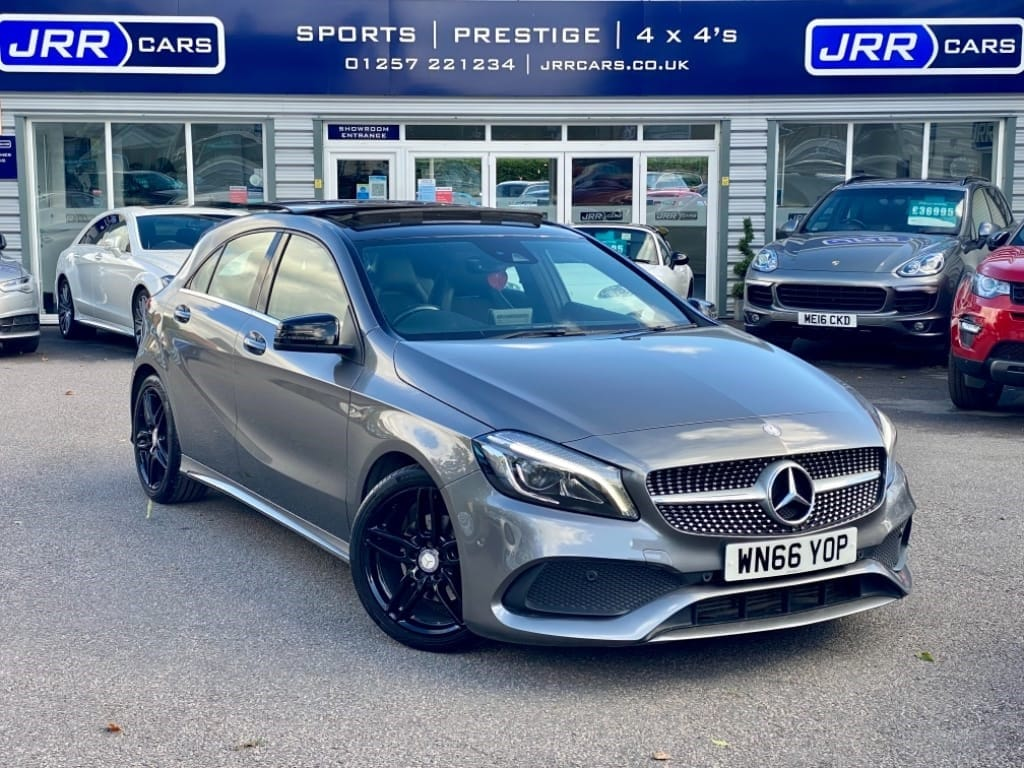 used Mercedes A180d A 180 D AMG LINE PREMIUM PLUS USED in chorley-lancashire