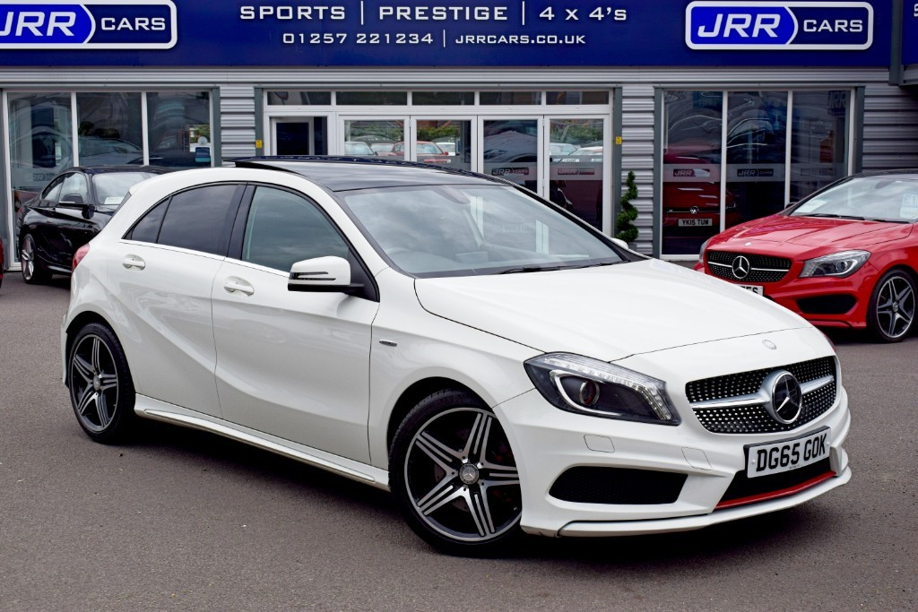 used Mercedes A250 BLUEEFFICIENCY ENGINEERED BY AMG in preston-lancashire