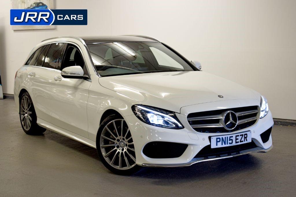 used Mercedes C250 BLUETEC AMG LINE PREMIUM PLUS in preston-lancashire