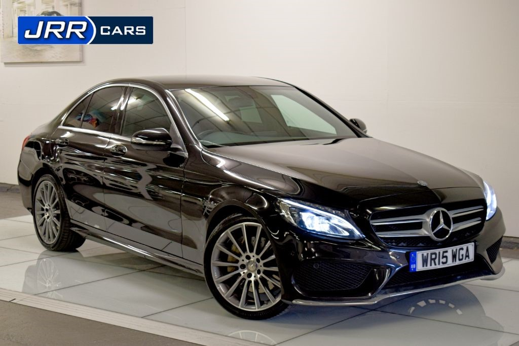 used Mercedes C300 BLUETEC HYBRID AMG LINE in preston-lancashire