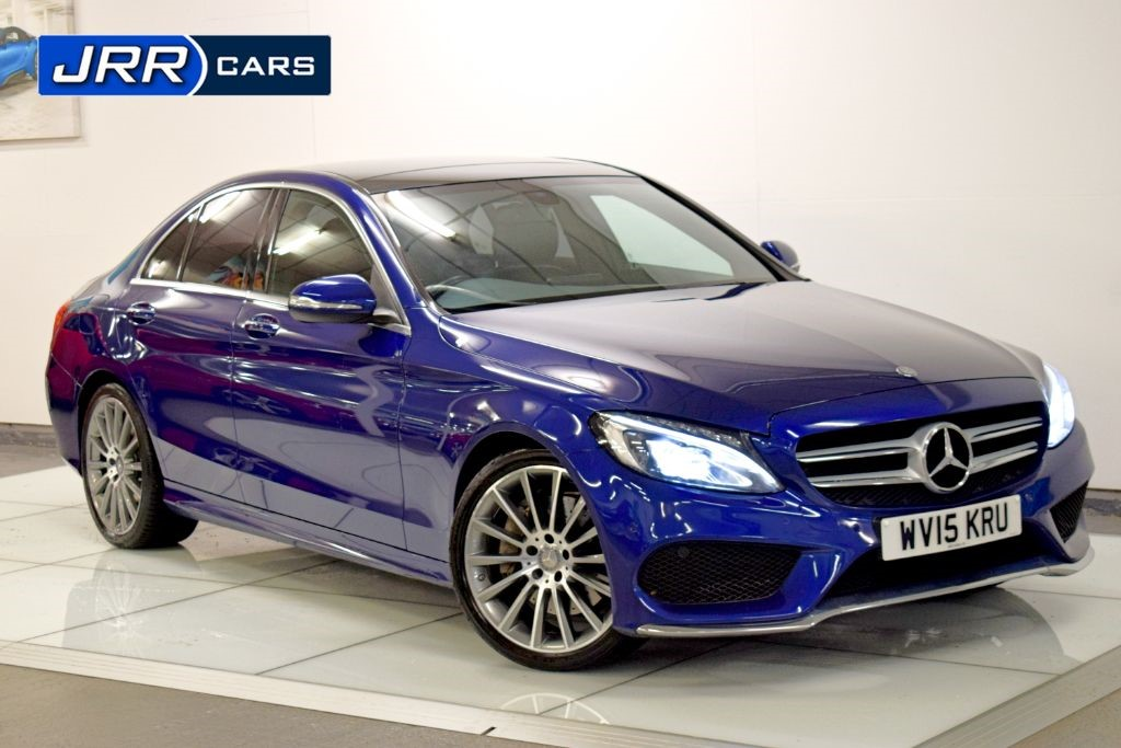 used Mercedes C300 BLUETEC HYBRID AMG LINE PREMIUM in preston-lancashire