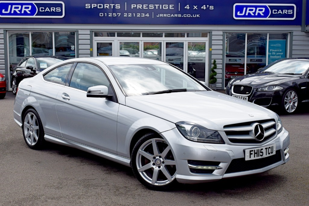used Mercedes C220 CDI AMG SPORT EDITION PREMIUM in preston-lancashire