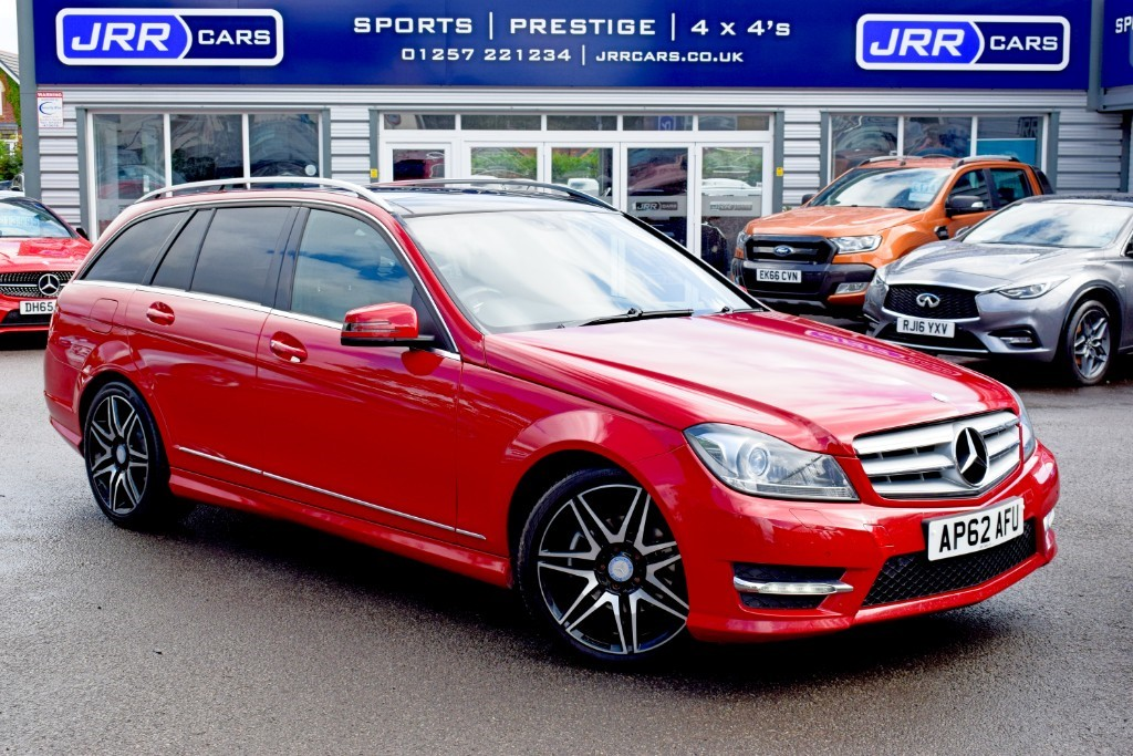 used Mercedes C220 CDI BLUEEFFICIENCY AMG SPORT PLUS in preston-lancashire