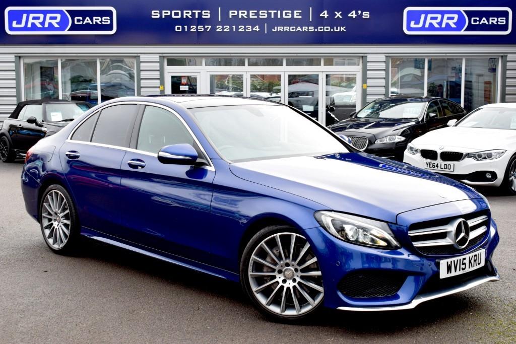 used Mercedes C300 BLUETEC HYBRID AMG LINE PREMIUM in preston-lancashire