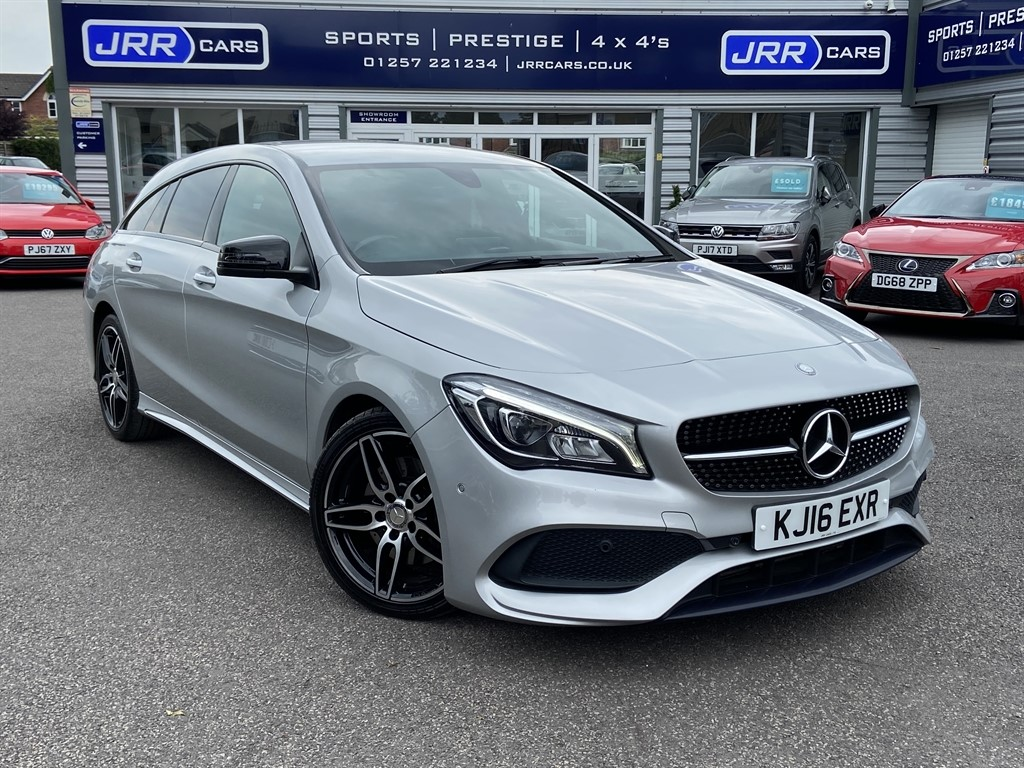 used Mercedes CLA220 CDI CLA 220 D AMG LINE USED in chorley-lancashire