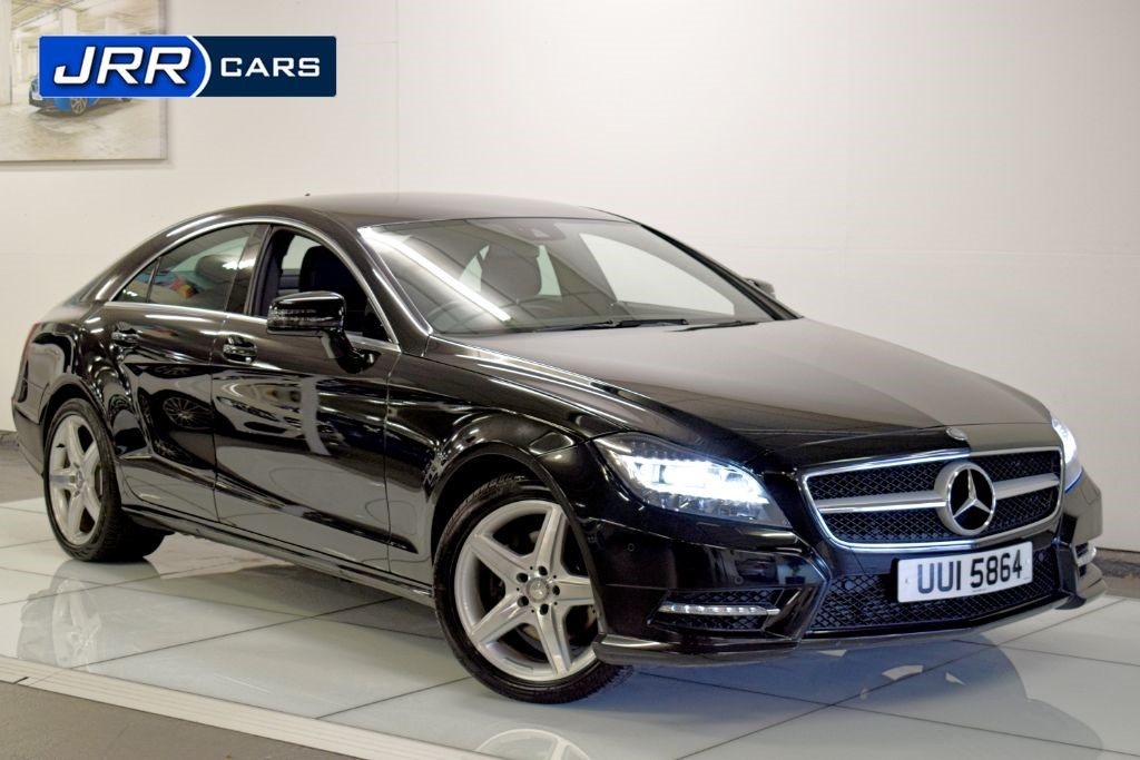 used Mercedes CLS CLS250 CDI BLUEEFFICIENCY AMG SPORT in preston-lancashire