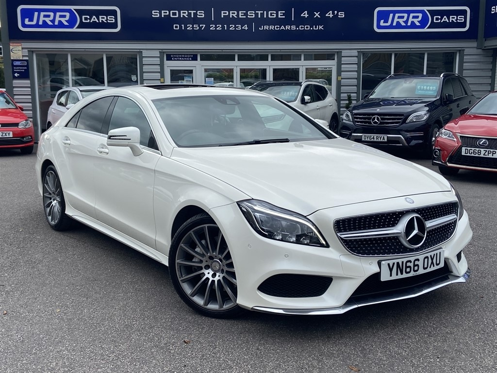used Mercedes CLS350 CDI CLS350 D AMG LINE PREMIUM PLUS USED in chorley-lancashire