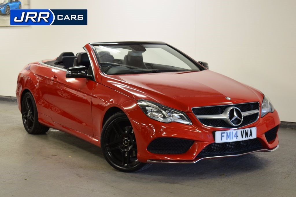 used Mercedes E200 AMG SPORT in preston-lancashire