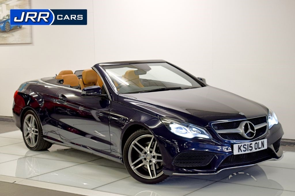 used Mercedes E220 BLUETEC AMG LINE in preston-lancashire
