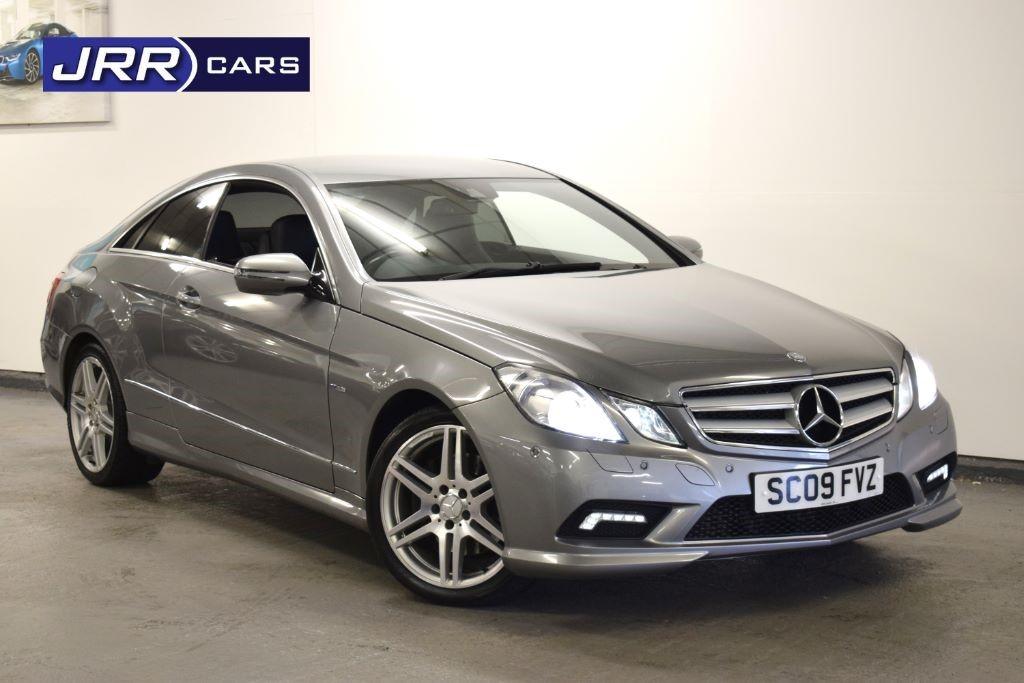 used Mercedes E350 CDI BLUEEFFICIENCY SPORT in preston-lancashire