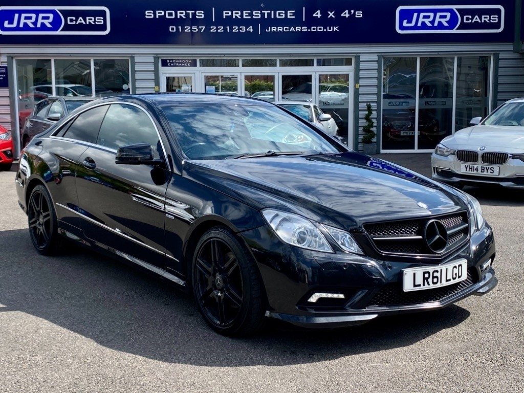 used Mercedes E220 CDI BLUEEFFICIENCY SPORT ED125 USED in chorley-lancashire