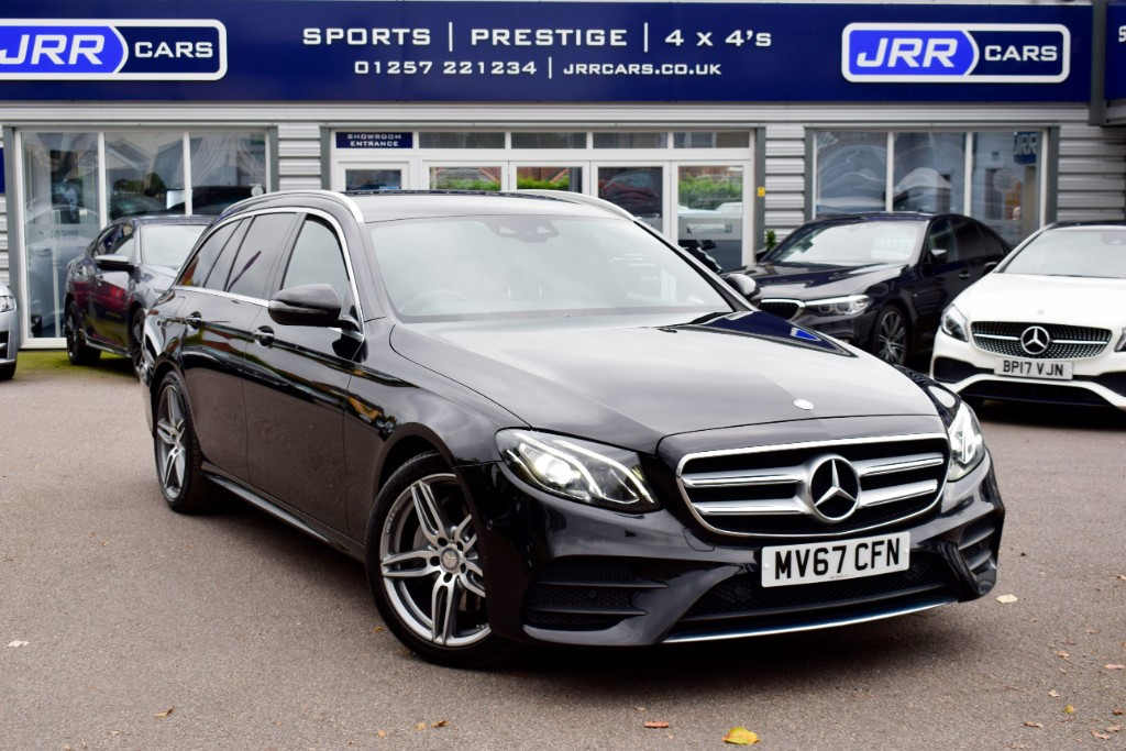 used Mercedes E220 E  D AMG LINE USED in chorley-lancashire