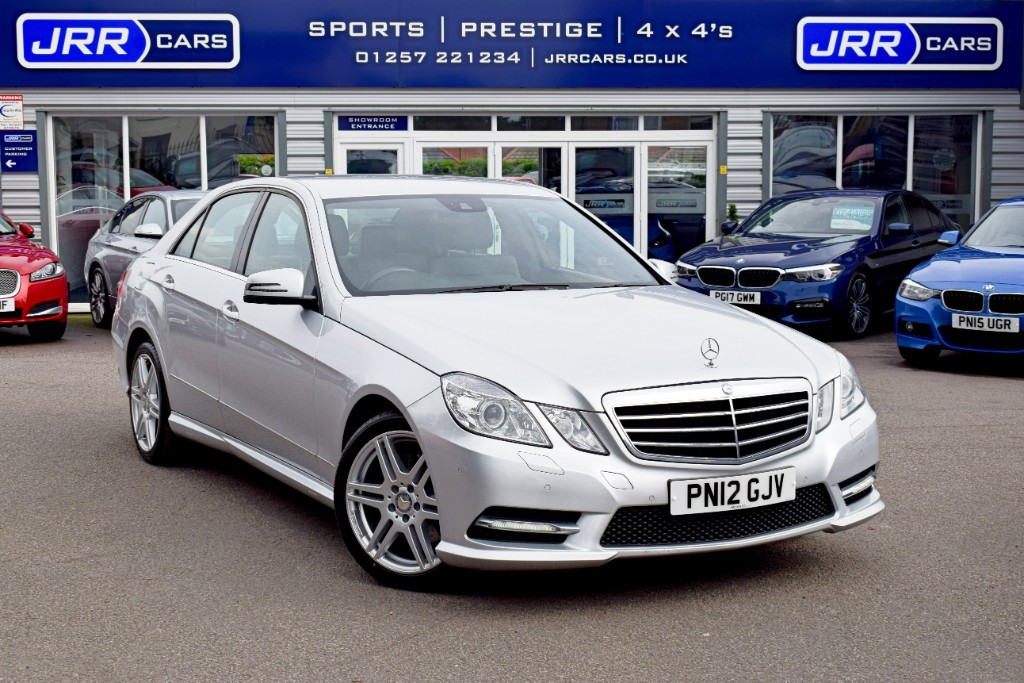 used Mercedes E220 CDI BLUEEFFICIENCY S/S SPORT USED in chorley-lancashire