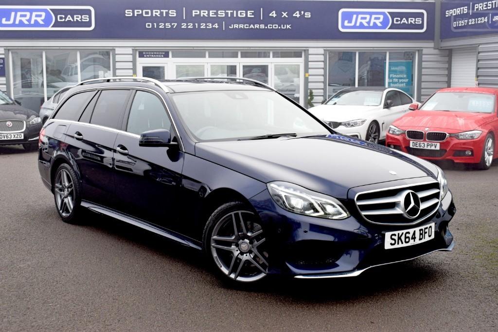 used Mercedes E300 BLUETEC HYBRID AMG SPORT in preston-lancashire