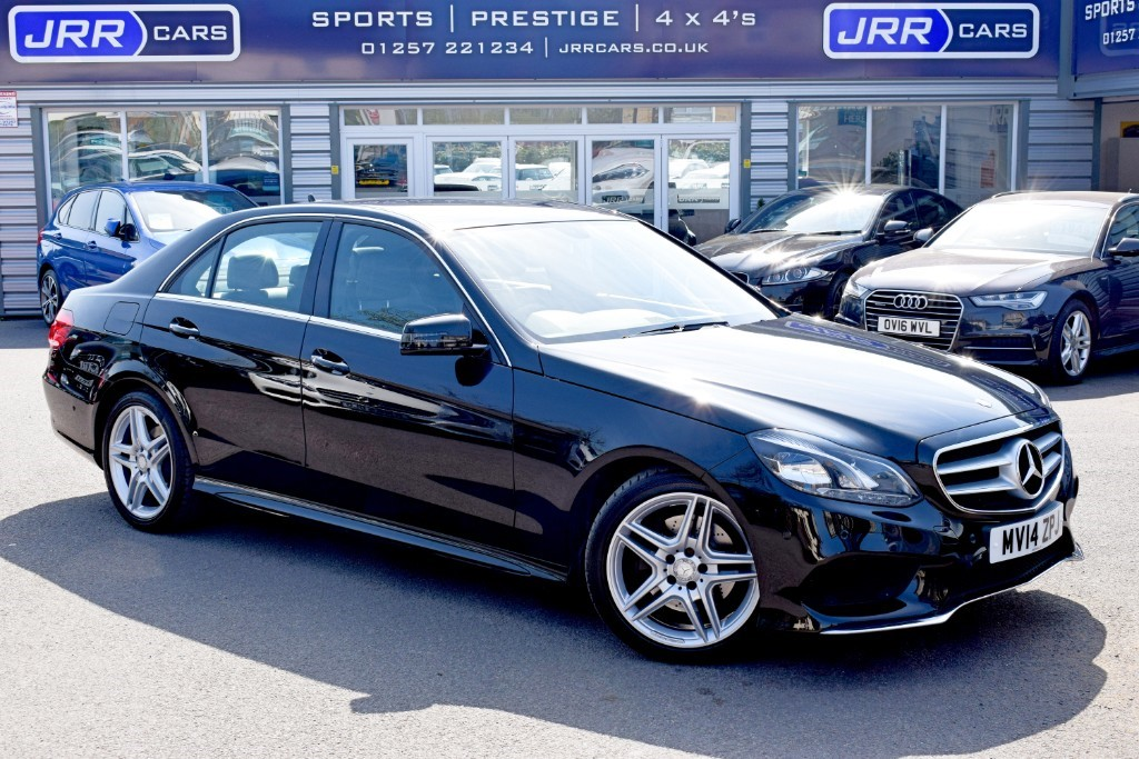 used Mercedes E300 BLUETEC HYBRID AMG SPORT in preston-lancashire