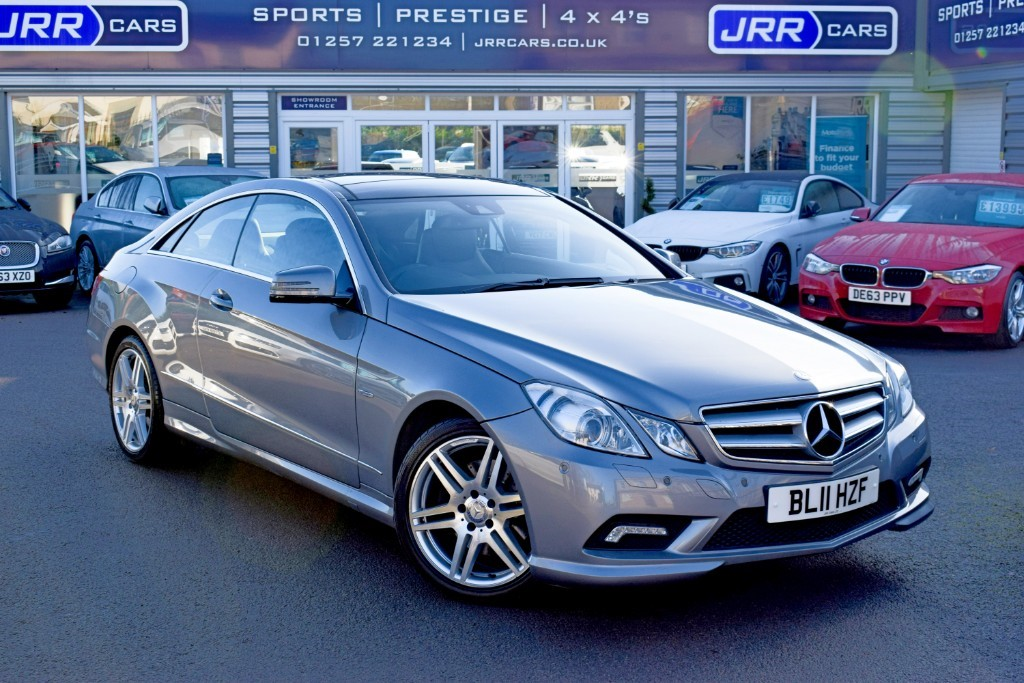 used Mercedes E350 CDI BLUEEFFICIENCY SPORT in preston-lancashire