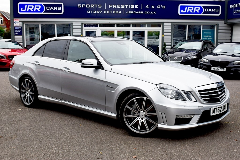 used Mercedes E63 USED AMG in chorley-lancashire