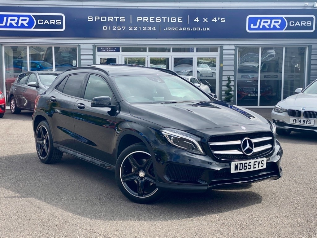 used Mercedes GLA220 CDI 4MATIC AMG LINE PREMIUM PLUS USED in chorley-lancashire