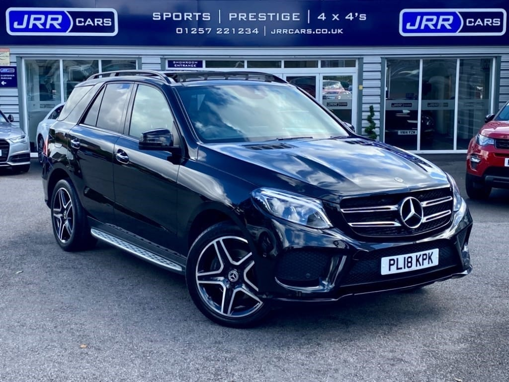 used Mercedes GLE250 GLE  D 4MATIC AMG NIGHT EDITION PREMIUM PLUS USED in chorley-lancashire