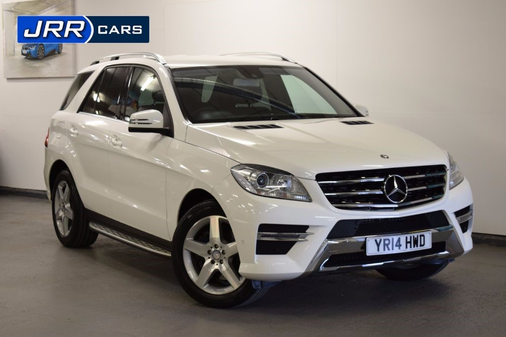 used Mercedes ML250 BLUETEC AMG SPORT in preston-lancashire