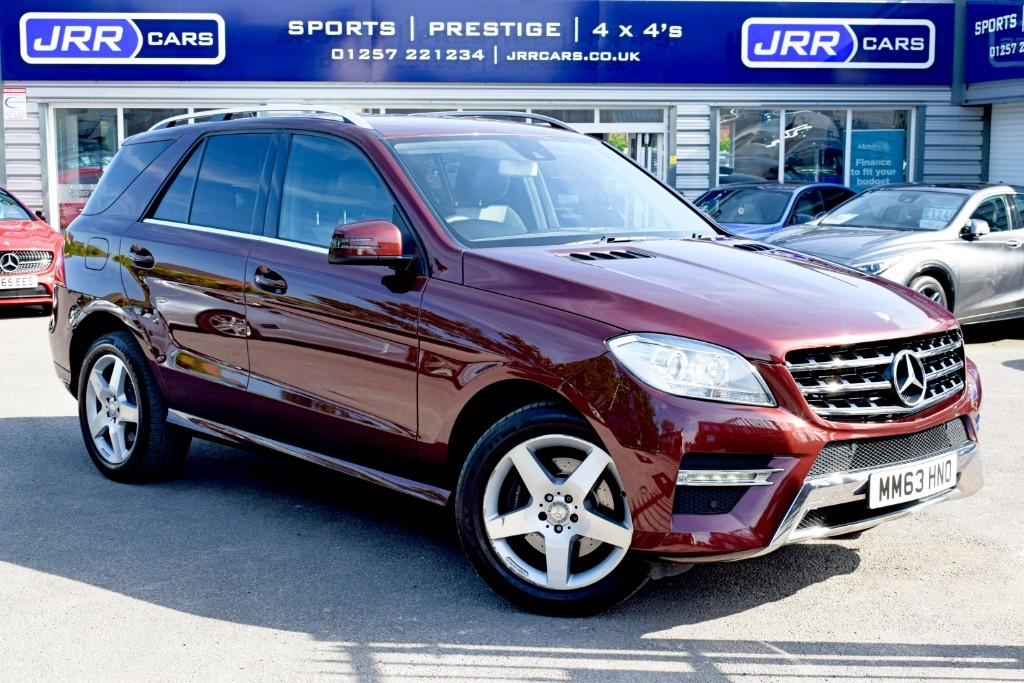 used Mercedes ML250 used BLUETEC AMG SPORT in preston-lancashire