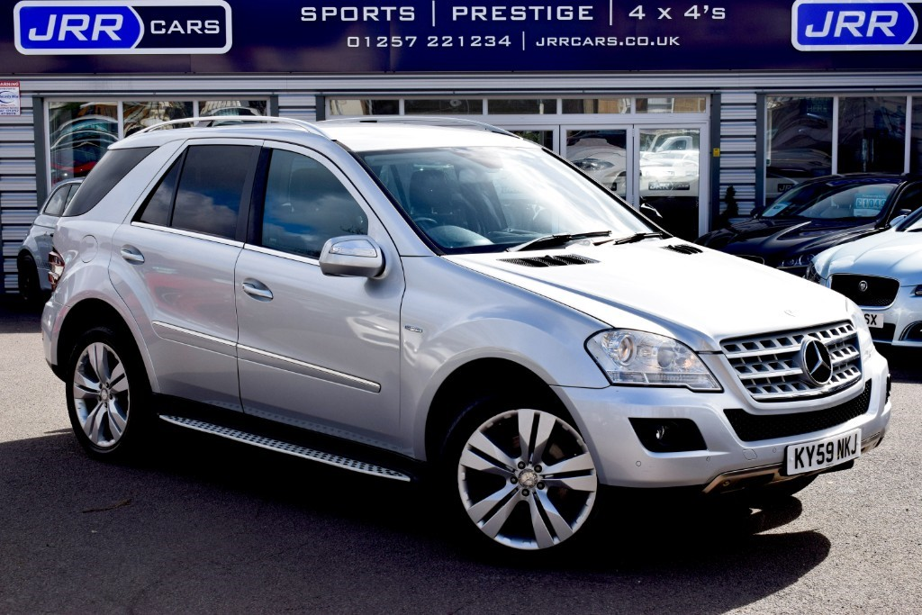 used Mercedes ML350 CDI BLUEEFFICIENCY SPORT in preston-lancashire