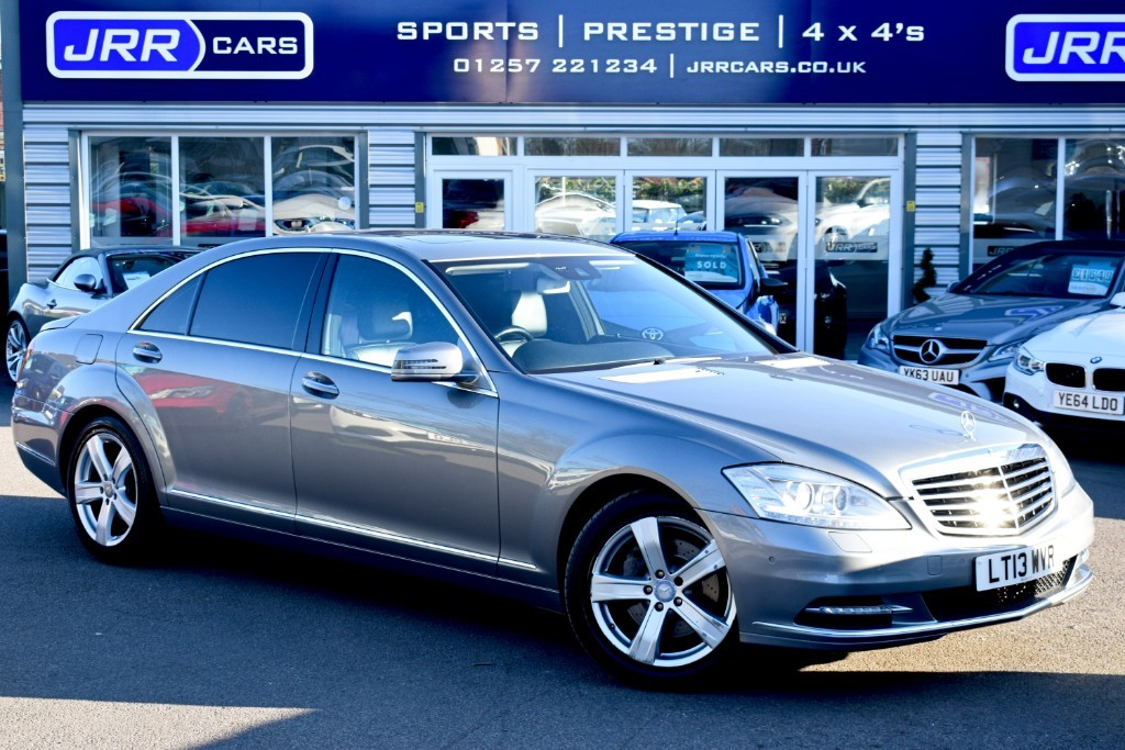 used Mercedes S350 BLUETEC L in preston-lancashire