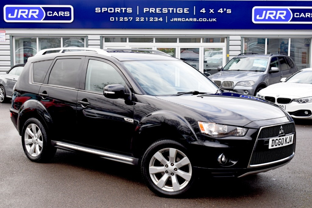 used Mitsubishi Outlander DI-D JURO in preston-lancashire