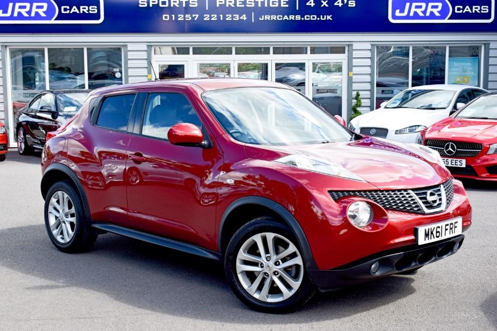 used Nissan Juke USED TEKNA DIG-T in preston-lancashire