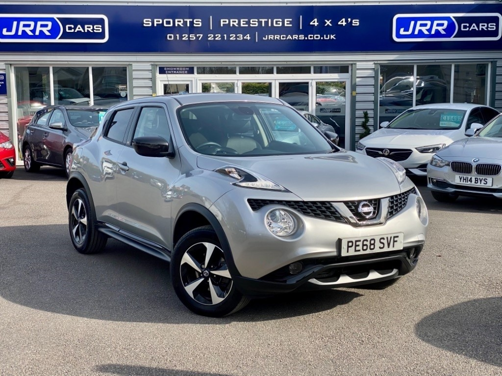 used Nissan Juke BOSE PERSONAL EDITION XTRONIC USED in chorley-lancashire