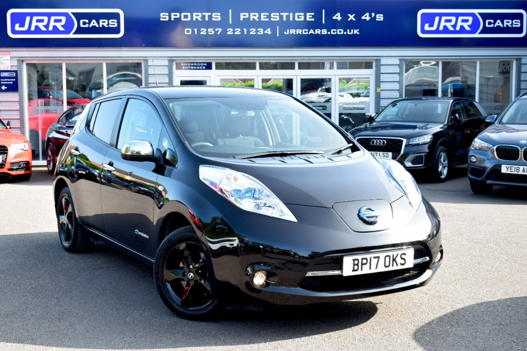 used Nissan Leaf BLACK EDITION USED in chorley-lancashire