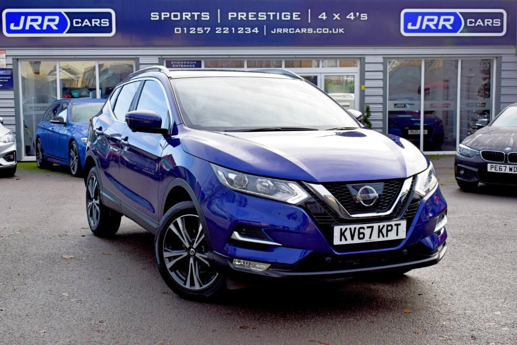used Nissan Qashqai N-CONNECTA DCI XTRONIC USED in chorley-lancashire