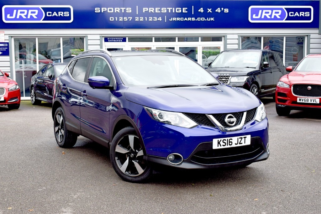 used Nissan Qashqai N-CONNECTA DCI USED in chorley-lancashire