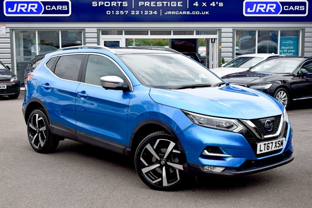 used Nissan Qashqai USED DCI TEKNA PLUS XTRONIC in preston-lancashire