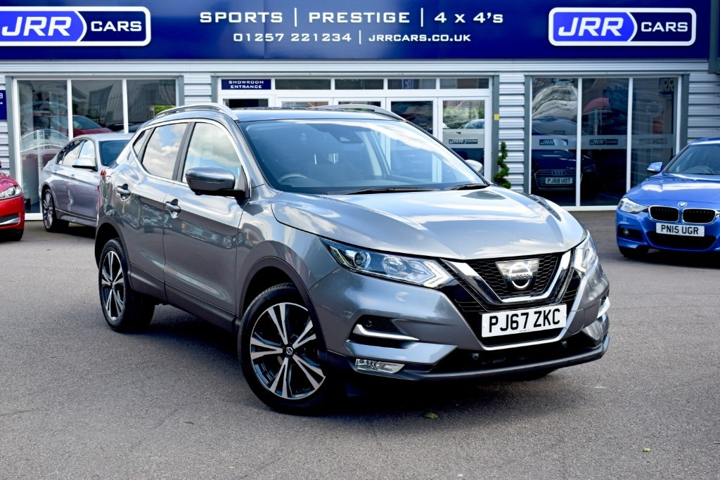 used Nissan Qashqai N-CONNECTA DIG-T USED in chorley-lancashire