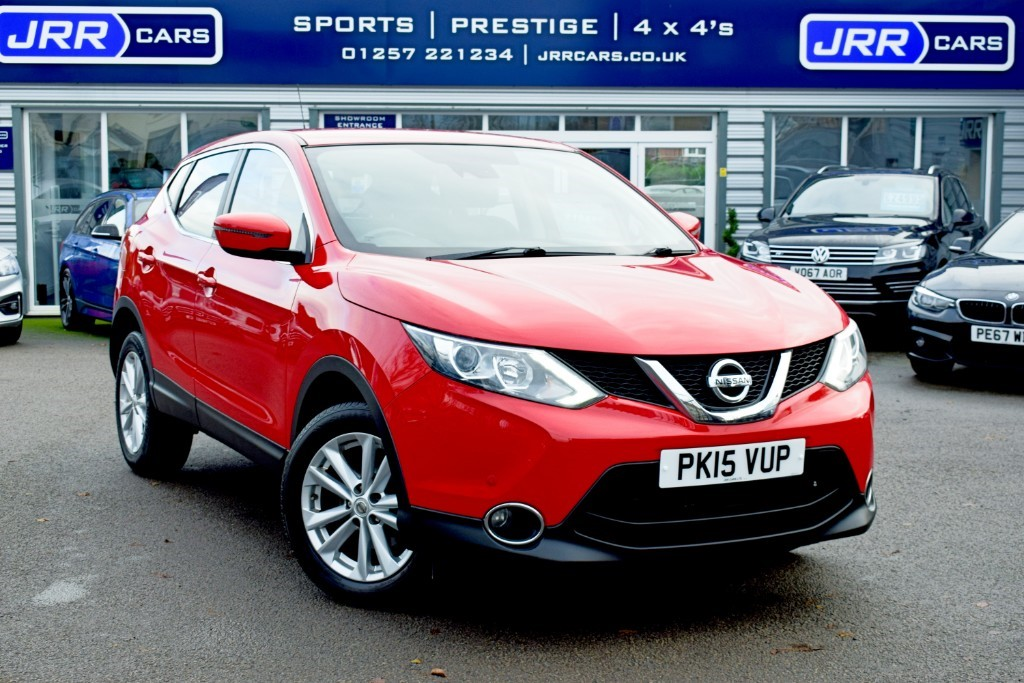 used Nissan Qashqai ACENTA DIG-T SMART VISION XTRONIC USED in chorley-lancashire