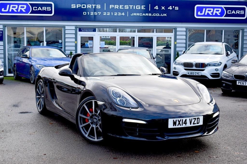 used Porsche Boxster 24V S PDK in chorley-lancashire