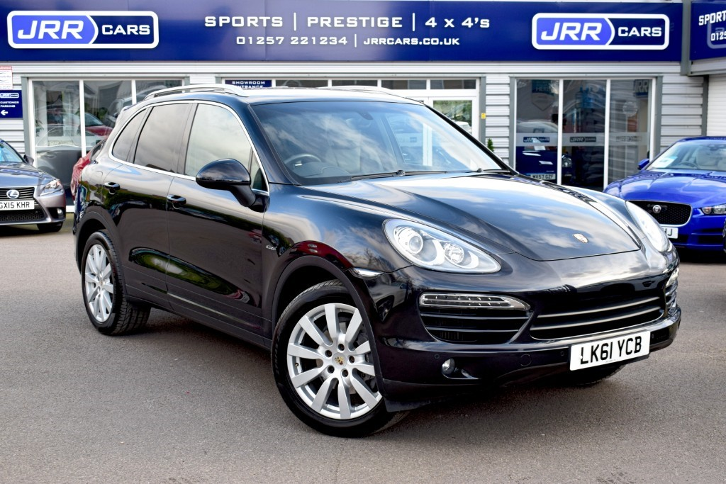 used Porsche Cayenne D V6 TIPTRONIC USED in chorley-lancashire