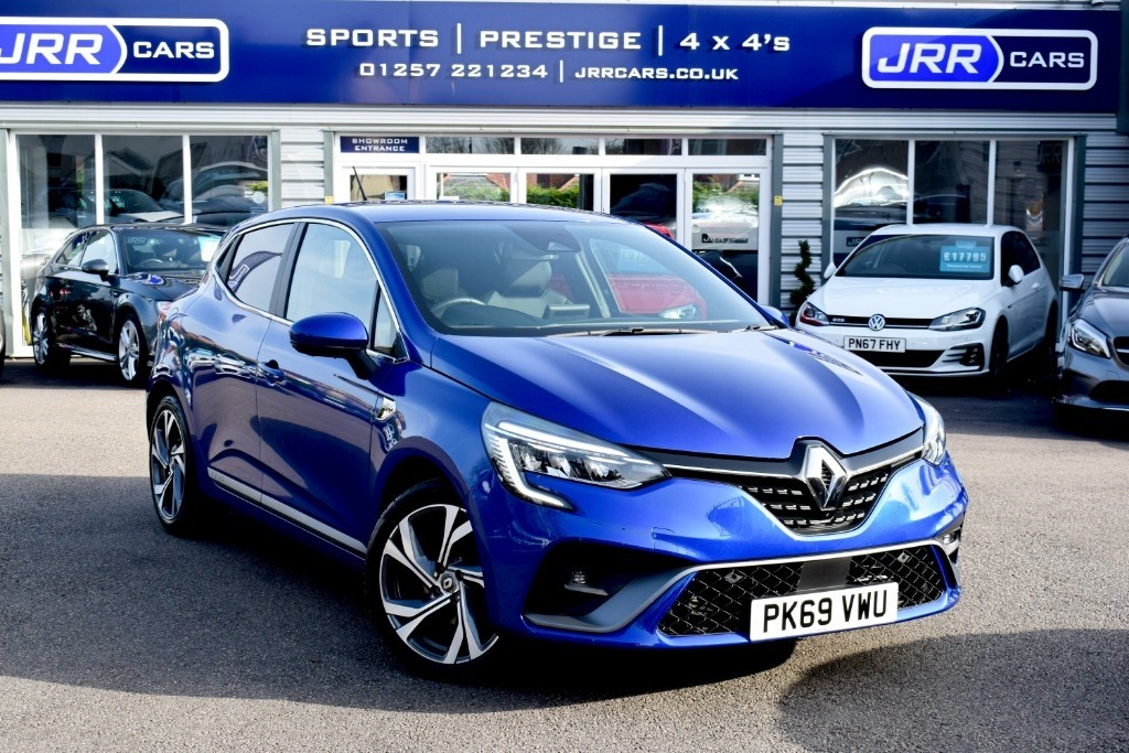 used Renault Clio RS LINE TCE EDC USED in chorley-lancashire