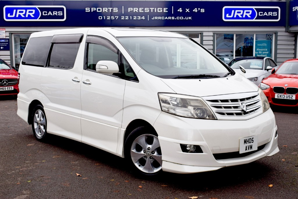 used Toyota Alphard  in preston-lancashire