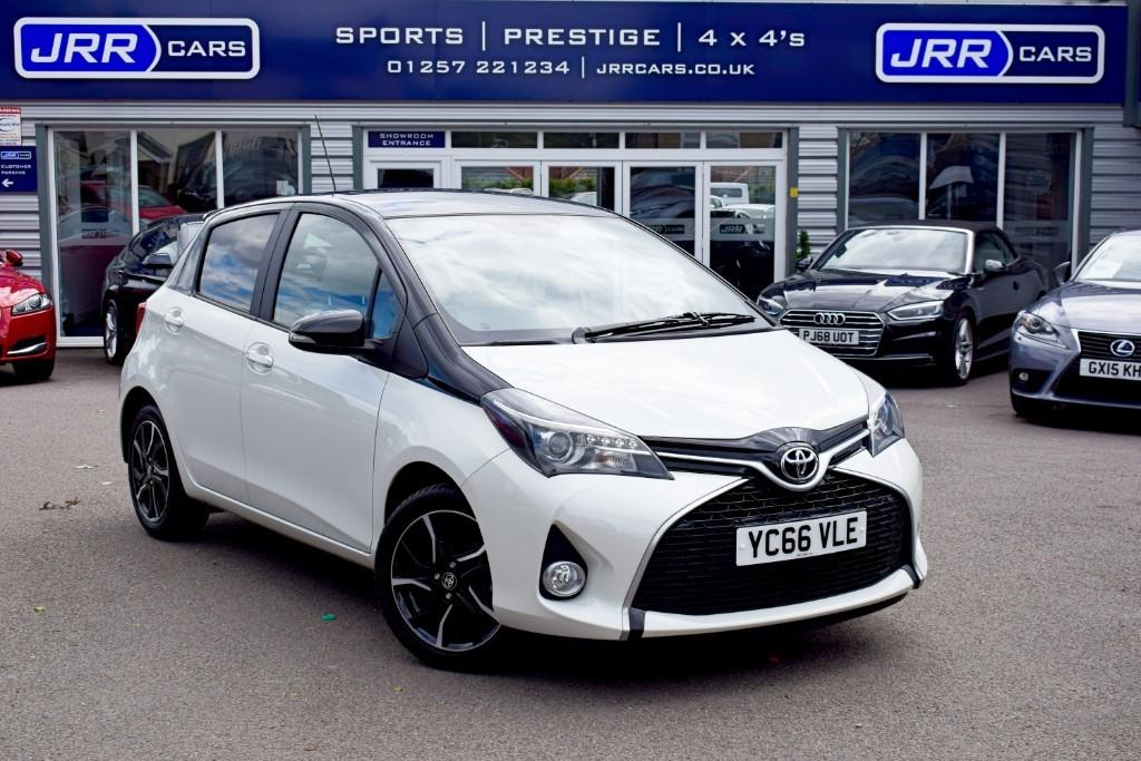 used Toyota Yaris VVT-I DESIGN USED in chorley-lancashire