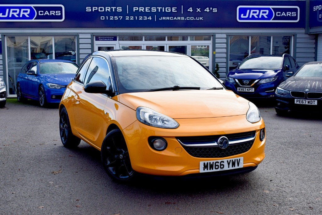 used Vauxhall Adam SLAM USED in chorley-lancashire
