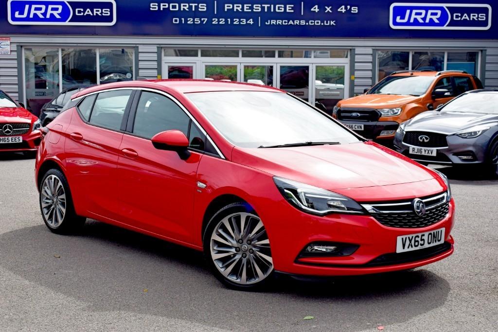 used Vauxhall Astra SRI NAV CDTI in preston-lancashire